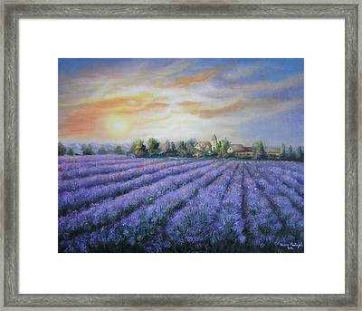 Scented Field Framed Print