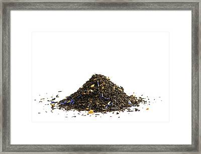 Scented Tea On White Framed Print by Dutourdumonde Photography