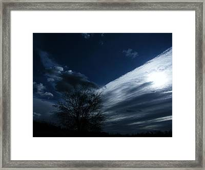 Schattenlicht - Shadowlight Framed Print by Mimulux patricia no