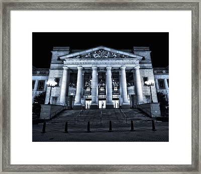 Schermerhorn Symphony Center Framed Print by Dan Sproul