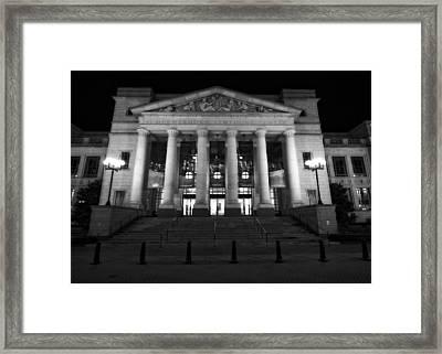 Schermerhorn Symphony Center In Nashville Framed Print by Dan Sproul
