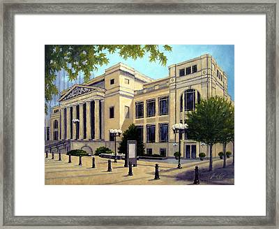 Schermerhorn Symphony Center Framed Print