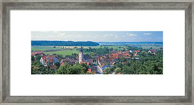 Schillingsfurst Germany Framed Print