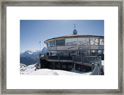 Schilthorn Framed Print by David Yack