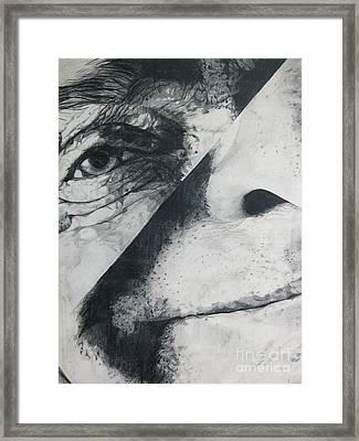 Schism Framed Print by Rory Sagner