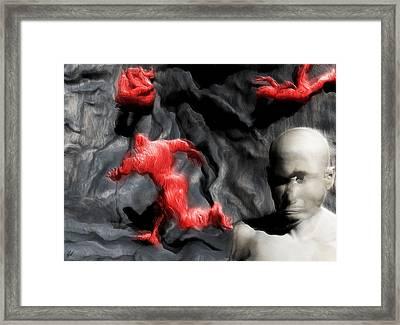 Schizophrenic Lucidity Framed Print