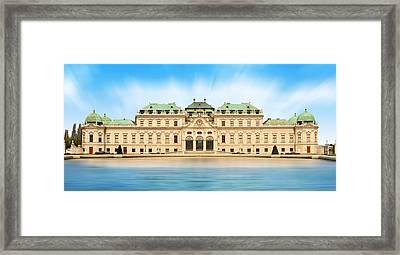Schloss Belvedere - Vienna Framed Print