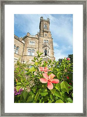 Schloss Eckberg Castle, Germany Framed Print by Michael Defreitas