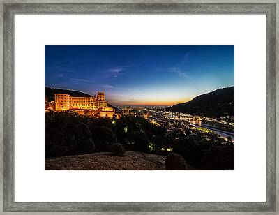 Schloss Heidelberg Framed Print