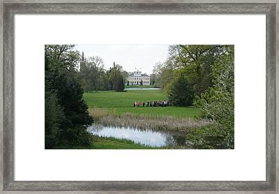 Schloss Woerlitz Framed Print by Olaf Christian