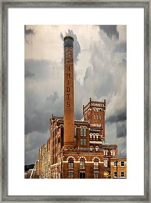 Schmidt Brewery Framed Print by Paul Freidlund