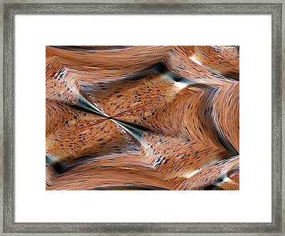 Schoko Framed Print by Klaas Hartz
