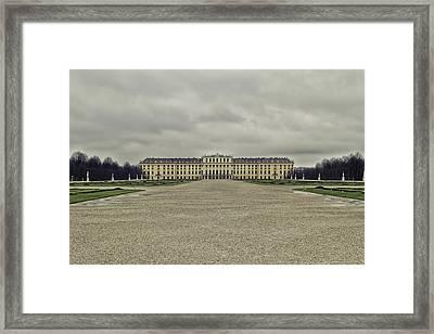 Schonbrunn Palace Framed Print
