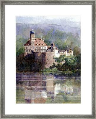 Schonbuhel Castle In Austria Framed Print by Janet King