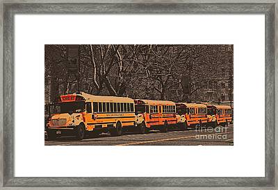 School Framed Print