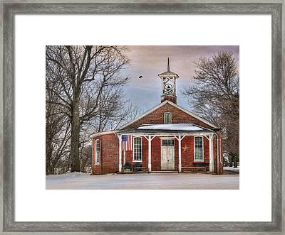 School Days Framed Print by Lori Deiter