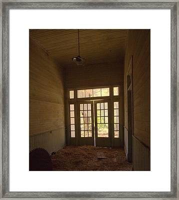 School Daze Framed Print by Mel Hensley