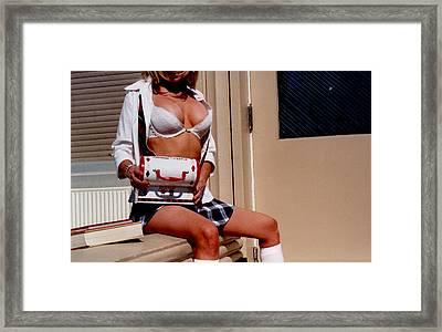School Girl 341 Framed Print