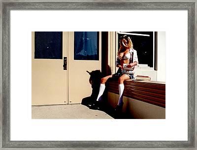 School Girl 342 Framed Print