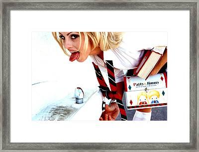 School Girl 346 Framed Print