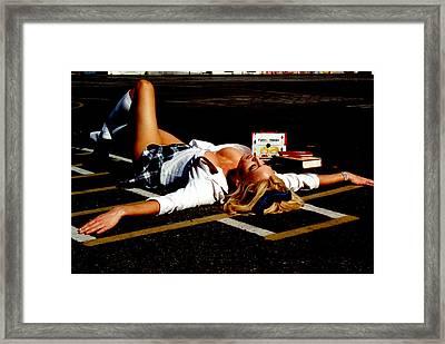 School Girl 348 Framed Print