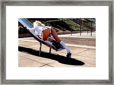 School Girl 349 Framed Print