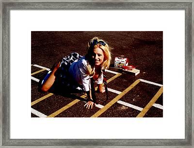 School Girl 350 Framed Print