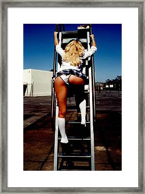 School Girl 355 Framed Print