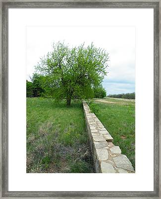 School House Wall Framed Print by The GYPSY And DEBBIE