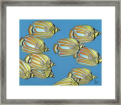 School Is In Session Framed Print