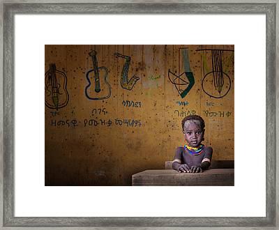 School Framed Print