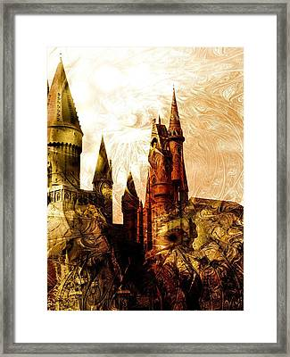 School Of Magic Framed Print by Anastasiya Malakhova