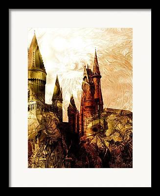 Merlin Mixed Media Framed Prints