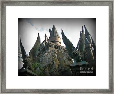 School Of Wizardry Framed Print by John Malone