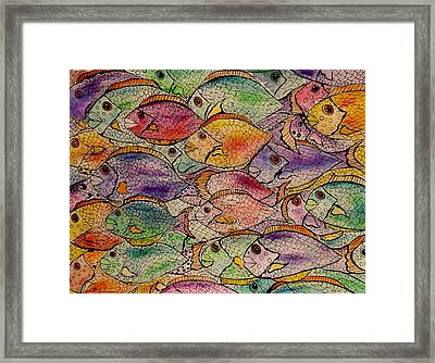 Schooled Framed Print by Lisa Aerts