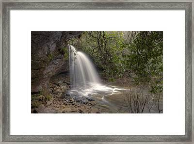 Schoolhouse Falls Framed Print by Stephen Gray