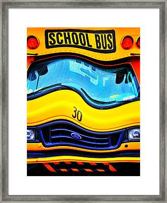 School's Out For Summer Framed Print by Diana Angstadt
