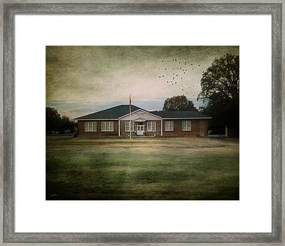 School's Out Framed Print