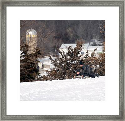 Framed Print featuring the photograph School's Out by Linda Mishler