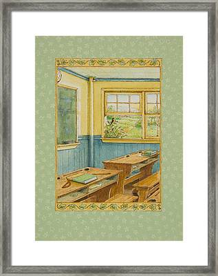 School's Out Framed Print by Lynn Bywaters