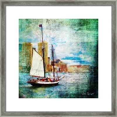 Schooner Bay Framed Print