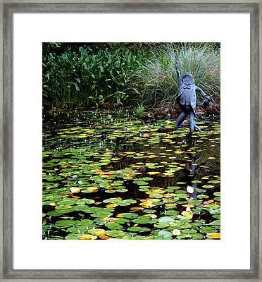 Schramsberg Winery Pond Framed Print