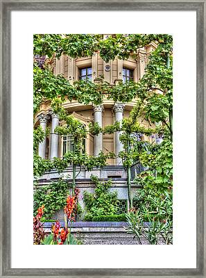 Schwerin Castle Windows. Framed Print
