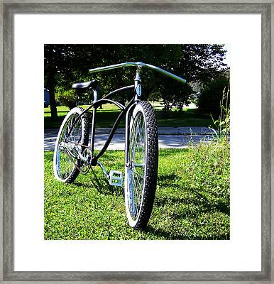 Schwinn 2 Framed Print by Dj Thompson