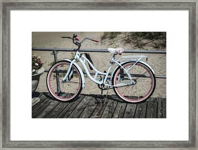 Schwinn Beach Cruiser Framed Print