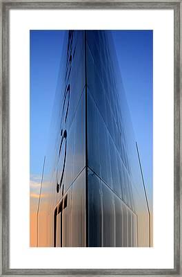 Sci-fi Fantasy Building Framed Print