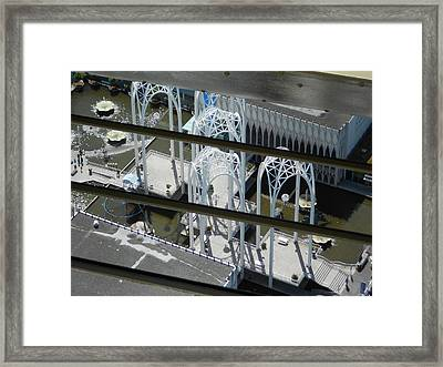 Science From The Top Framed Print