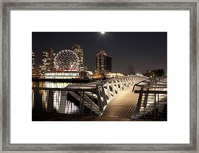 Science World At Telus World Of Science Framed Print