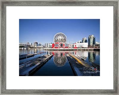 Science World Vancouver Framed Print