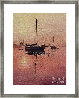 Scituate Serenity Framed Print